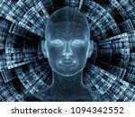 radiating mind series. 3d... | Shutterstock . vector #1094342552