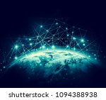 earth from space. best internet ... | Shutterstock . vector #1094388938