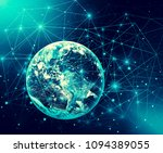 earth from space. best internet ... | Shutterstock . vector #1094389055