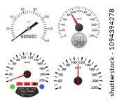 speedometer scales.... | Shutterstock . vector #1094394278