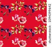 seamless pattern with original...   Shutterstock . vector #1094399642