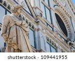 Dante's Statue In Front Of...