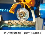 sharpening rapid steel mill on... | Shutterstock . vector #1094433866