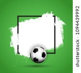 football   soccer ball on a...   Shutterstock .eps vector #1094439992