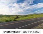 californian roads. countryside  ... | Shutterstock . vector #1094446352