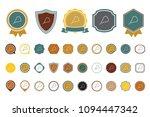 vector beads  icon | Shutterstock .eps vector #1094447342