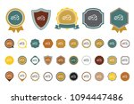 vector cheese  icon | Shutterstock .eps vector #1094447486