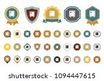 bank safe icon | Shutterstock .eps vector #1094447615