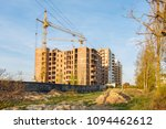 crane build multi storey... | Shutterstock . vector #1094462612