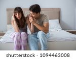 woman and man in the bedroom | Shutterstock . vector #1094463008