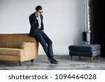 young stylish businessman... | Shutterstock . vector #1094464028