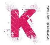 k_atomic_letter   Shutterstock .eps vector #10944652