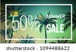 summer sale banner template... | Shutterstock .eps vector #1094488622