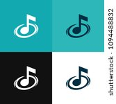 sign of musical note isolated... | Shutterstock .eps vector #1094488832