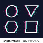 vector frames set in trendy... | Shutterstock .eps vector #1094492972