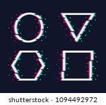 vector frames set in trendy... | Shutterstock .eps vector #1094492972