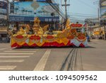 Small photo of PATTAYA,THAILAND - APRIL 13,2018: Second Road Second Road This is a parade,which celebrates the beginning of Songkran,which is the new years eve of the country.