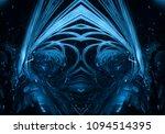 3d rendering of futuristic...   Shutterstock . vector #1094514395