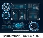 abstract infographic template... | Shutterstock .eps vector #1094525282