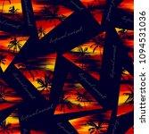 tropical seamless wallpaper of... | Shutterstock .eps vector #1094531036