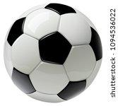 soccer ball isolated on white | Shutterstock .eps vector #1094536022