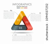 infographic template. vector...   Shutterstock .eps vector #1094537252