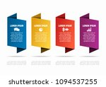 infographic template. vector... | Shutterstock .eps vector #1094537255