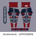 leggings pants fashion vector... | Shutterstock .eps vector #1094538848