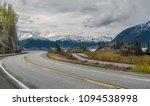alaska scenic road   the seward ... | Shutterstock . vector #1094538998