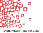 social media marketing...   Shutterstock .eps vector #1094559602