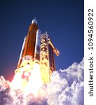 american space launch system... | Shutterstock . vector #1094560922