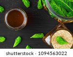 homemade pine cough syrup for... | Shutterstock . vector #1094563022