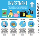 investment infographics.... | Shutterstock .eps vector #1094584136