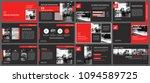 red and black slide... | Shutterstock .eps vector #1094589725