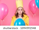 disappointed young woman in... | Shutterstock . vector #1094592548