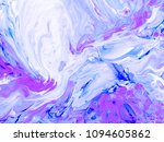 abstract creative hand painted... | Shutterstock . vector #1094605862