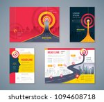 cover book design set  abstract ... | Shutterstock .eps vector #1094608718