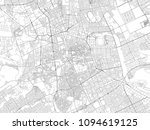 streets of riyadh  city map ... | Shutterstock .eps vector #1094619125