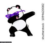 Dabbing Panda Vector Design