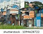 the favela park cidade jardim ...   Shutterstock . vector #1094628722