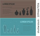 templates of the advertising... | Shutterstock .eps vector #1094667056
