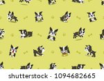vector cartoon character boston ... | Shutterstock .eps vector #1094682665
