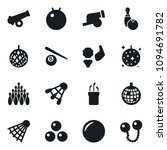 set of simple vector isolated... | Shutterstock .eps vector #1094691782