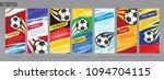 soccer card design  football... | Shutterstock .eps vector #1094704115
