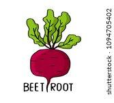beet root vectorial... | Shutterstock .eps vector #1094705402