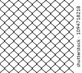 seamless metal mesh. wire fence ... | Shutterstock .eps vector #1094718218