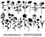 silhouette spring and summer... | Shutterstock .eps vector #1094720648