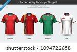 football players uniform ... | Shutterstock .eps vector #1094722658