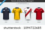 football players uniform ... | Shutterstock .eps vector #1094722685