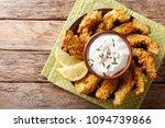 portion of deep fried golden... | Shutterstock . vector #1094739866